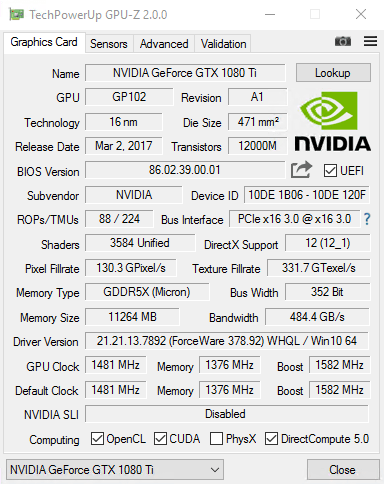 Tips to find out memory manufacturer of your GPU - GPU