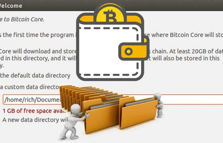 core wallet directory