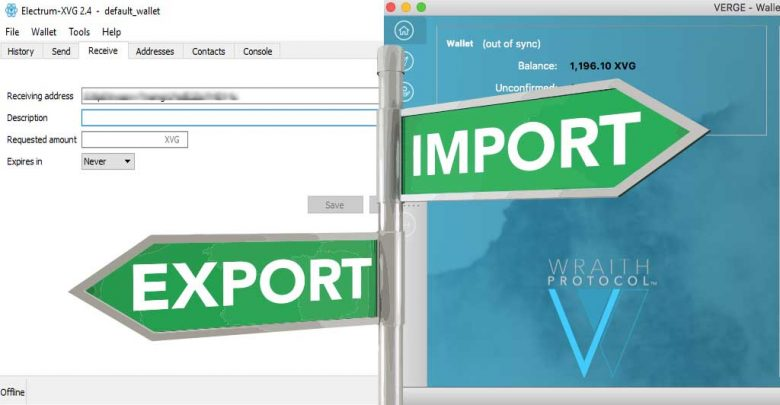 Photo of How to import XVG electrum wallet to Verge QT wallet – Transferring coins