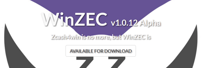 WinZEC wallet download