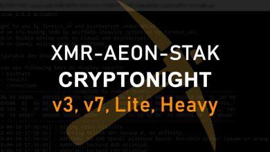 Photo of XMR-AEON-STAK – All in one Cryptonight Miner V7, V3, Lite, Heavy