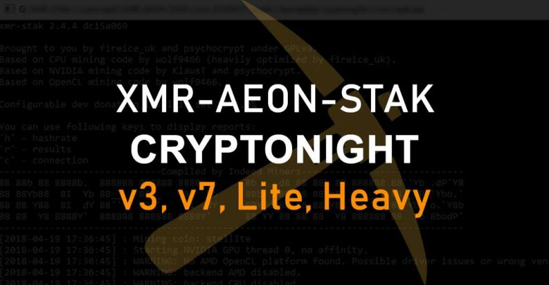 Photo of XMR-AEON-STAK – All in one Cryptonight Miner V7, V3, Lite, Heavy
