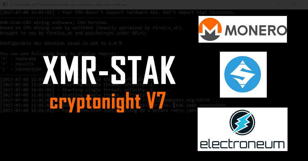 How to use XMR-STAK? Beginners guide to xmr-stak CryptoNight
