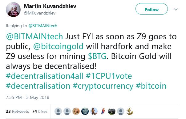 Equihash ASIC miner