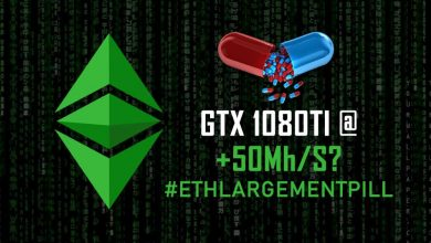 Photo of The Ethlargement Pill – Ethereum Hashrate Hardener (GTX 1080TI @ 50 Mh/s) – Is it legit?