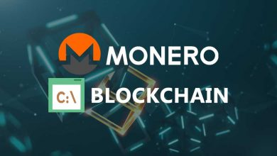 Monero blockchain path