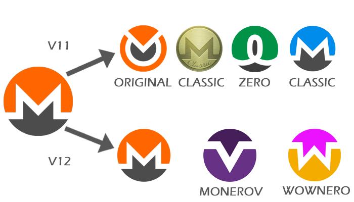 Monero V11 and V12