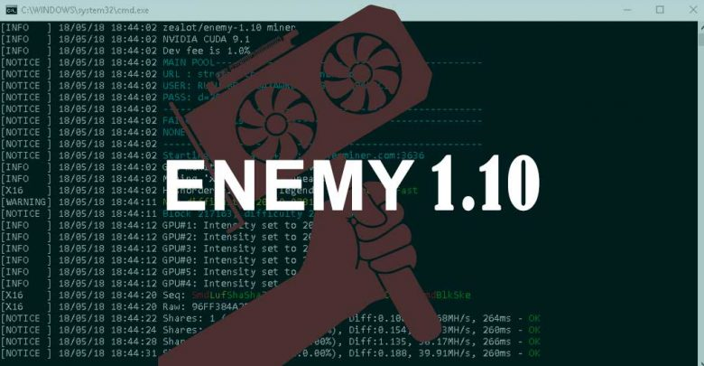 Photo of Z-Enemy ver 1.10 (PUBLIC) – CUDA miner for Windows and Linux