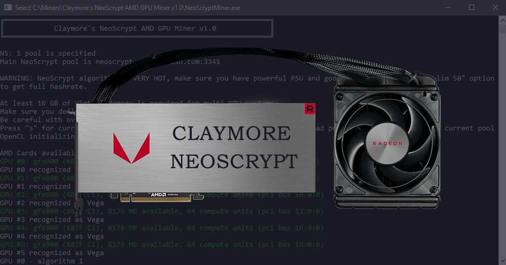 Claymore's NeoScrypt AMD Miner - Mine NeoScrypt with AMD GPU