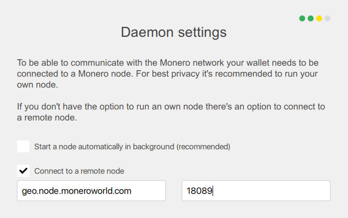 Monero Remote Node