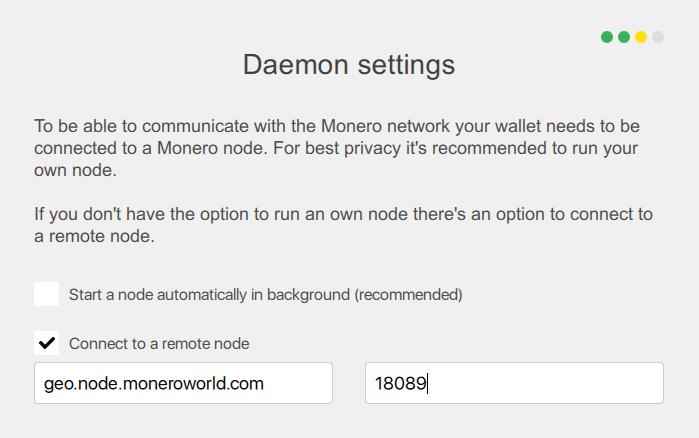 Monero Remote Node