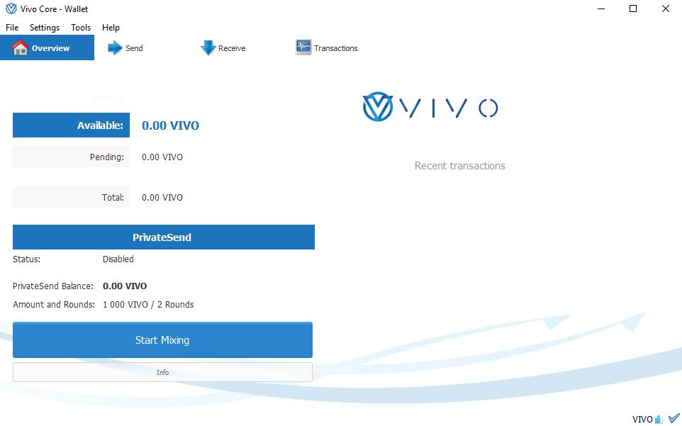 VIVO wallet