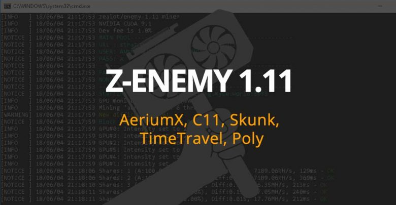 Photo of Z-Enemy v1.11 now supports C11, AeriumX, Skunk, TimeTravel and Polytimos