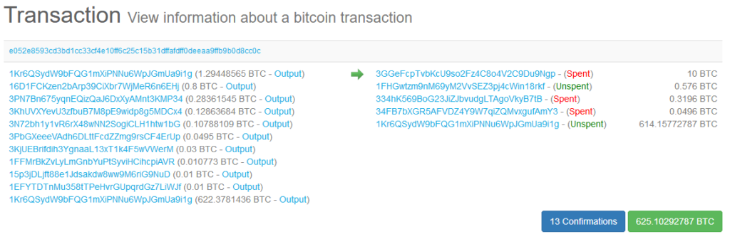 Bitcoin wallet transactions