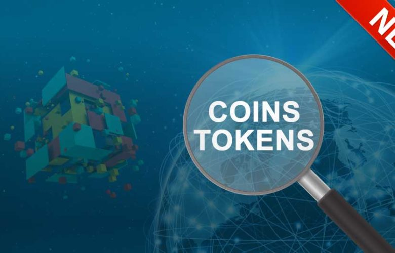 Find new coins and tokens