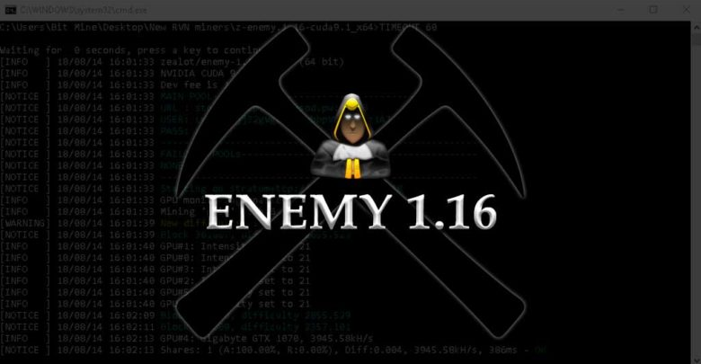 Photo of Z-Enemy 1.16 – Performance improvements on HEX, X16R/S and few other algos