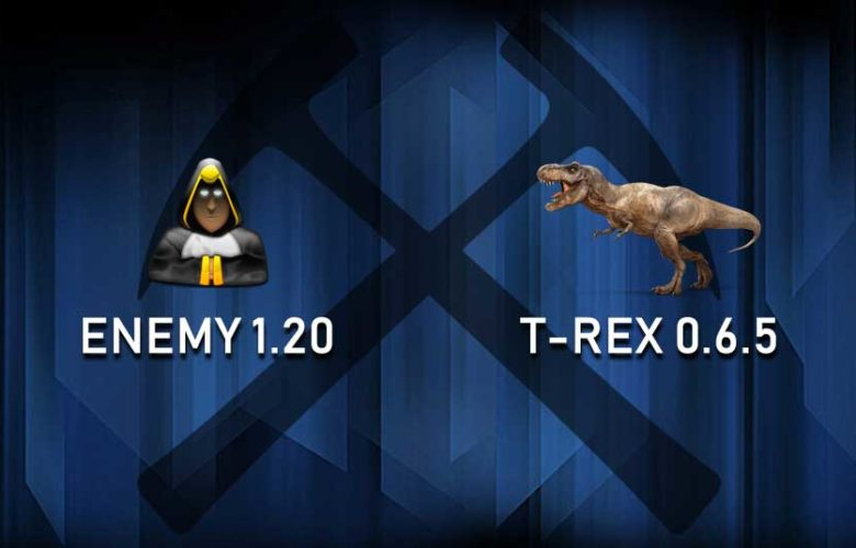 Enemy & T-Rex BCD support