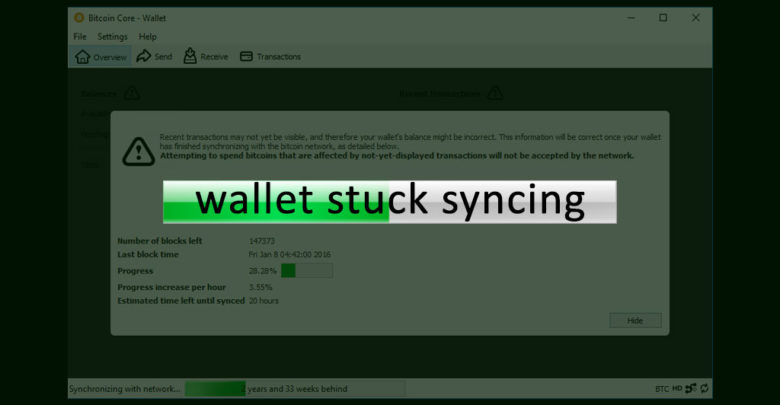 Photo of Wallet won't sync – Why your wallet is not syncing and how to fix this