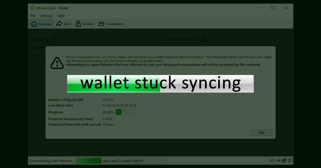 bitcoin sync