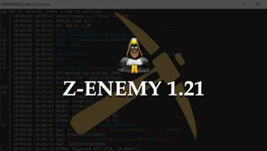 Photo of Z-Enemy 1.21 NVIDIA miner with slight optimizations (Windows / Linux)
