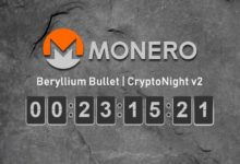 Monero bulletproof cryptonight v2 hardfork