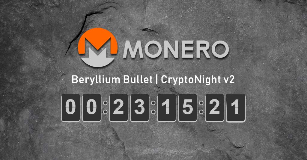 Monero network upgrade (Hardfork) - CryptoNight V8 CNv2 miners & pools