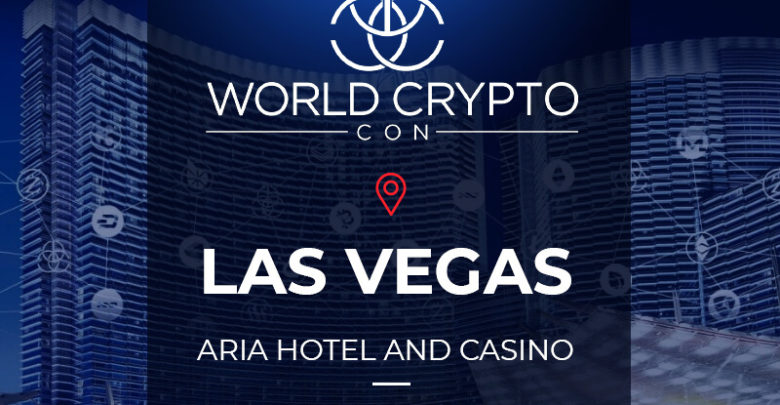 Photo of World Crypto Con launches blockchain summit, Aria Hotel, Las Vegas, 31st October 2018
