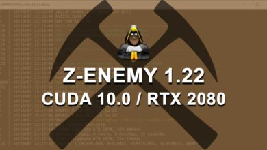 Photo of Z-Enemy 1.22 now supports CUDA 10 with improved speed & stability
