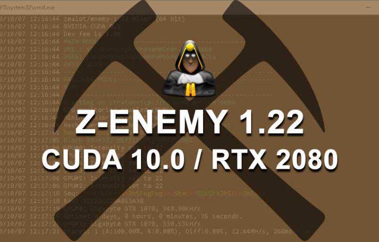 Z-Enemy 1.22 NVIDIA miner