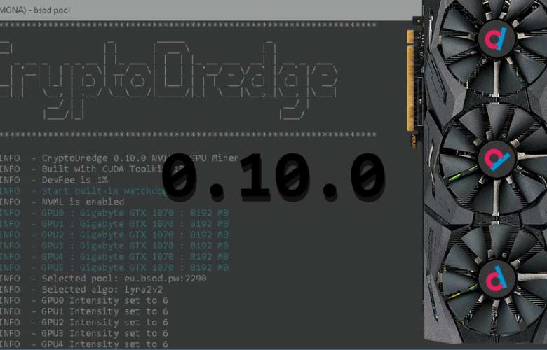 CryptoDredge 10.0