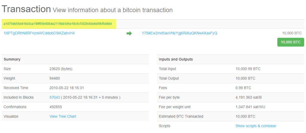 Transaction Hash ID (TXID) - What is it & how to find the