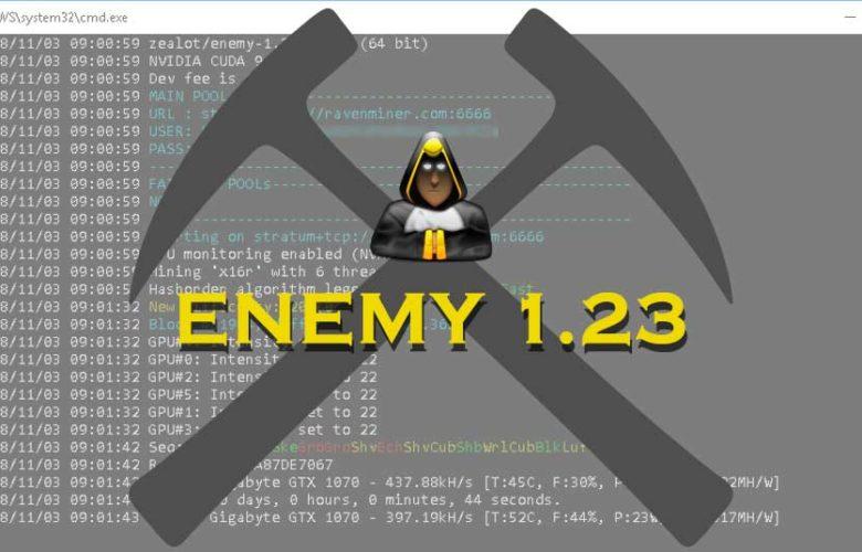Z-Enemy 1.23 NVIDIA miner