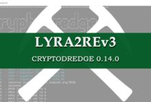 Lyra2REv3 CryptoDredge
