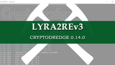 Photo of CryptoDredge 0.14.0 – Support for Lyra2REv3 and performance improvements
