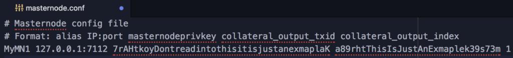 masternode.conf file