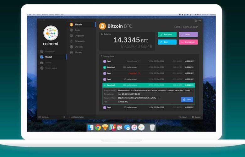 Coinomi wallet desktop