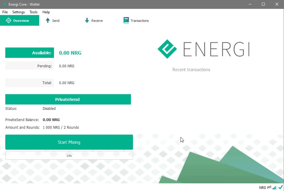 Energi wallet