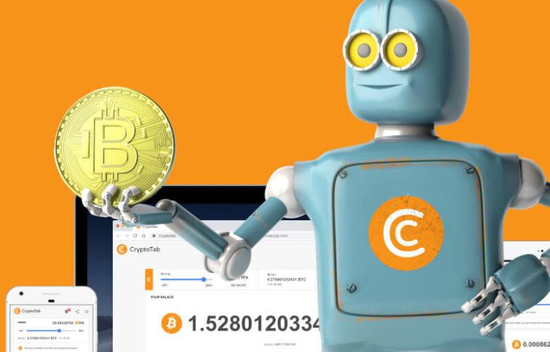 CryptoTab mining