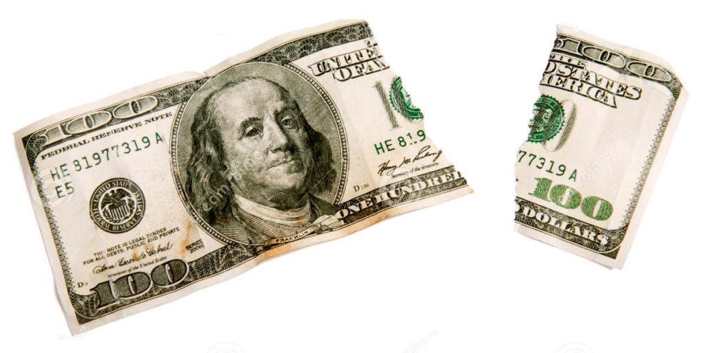 Dollar change