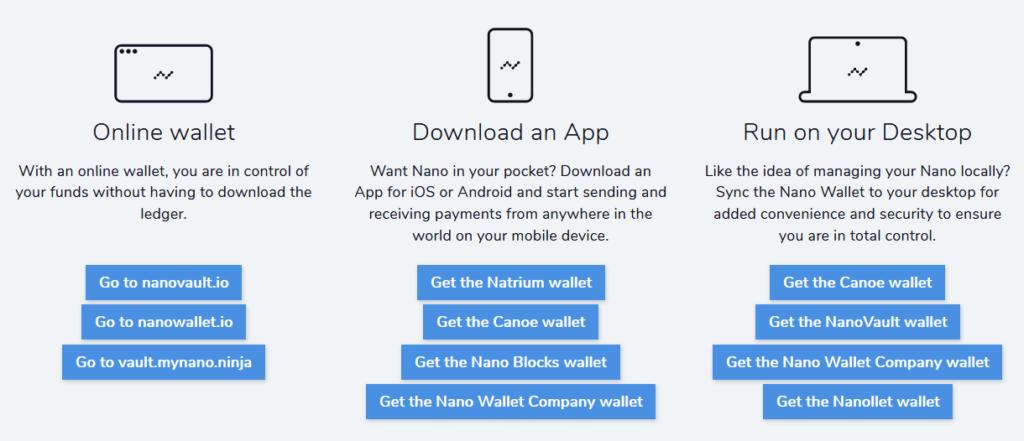 Nano wallets