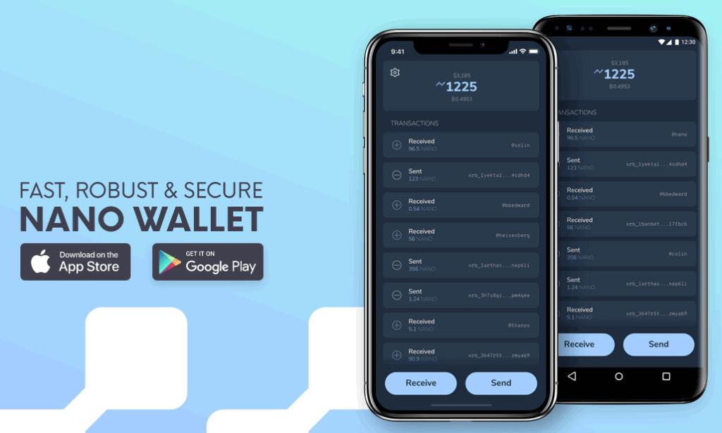 Natrium mobile wallet