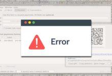 Photo of Bitcoin QT client / core wallet closing abruptly (crash fixed)