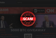 Photo of Beware of cryptocurrency (BTC / ETH) giveaway scams on YouTube & Twitter