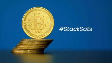 Bitcoins staked