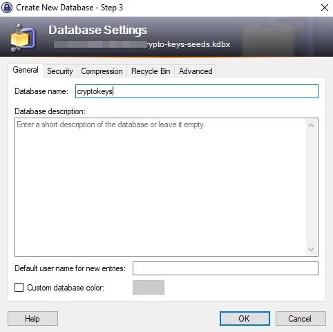 crypto key database