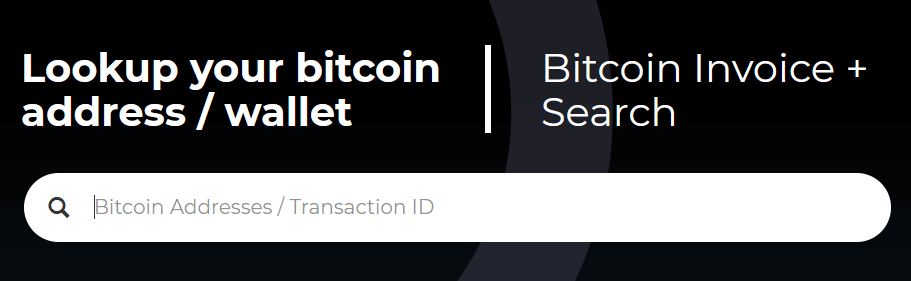 monitor btc address