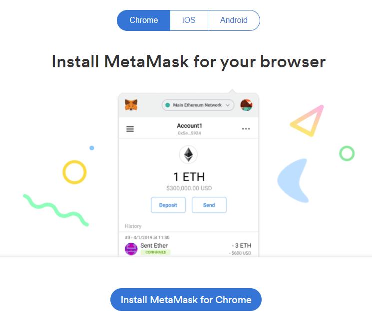 installing metamask
