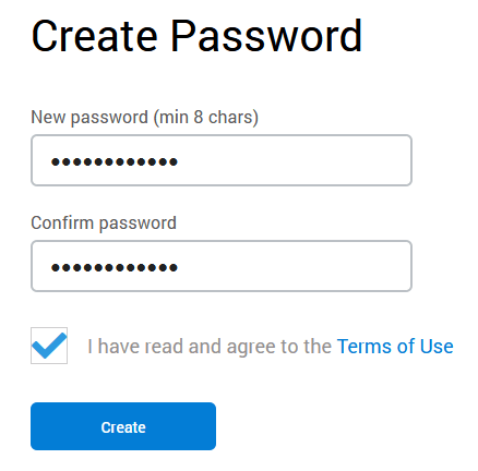 wallet password
