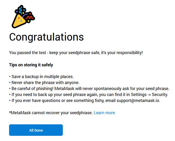 security tip