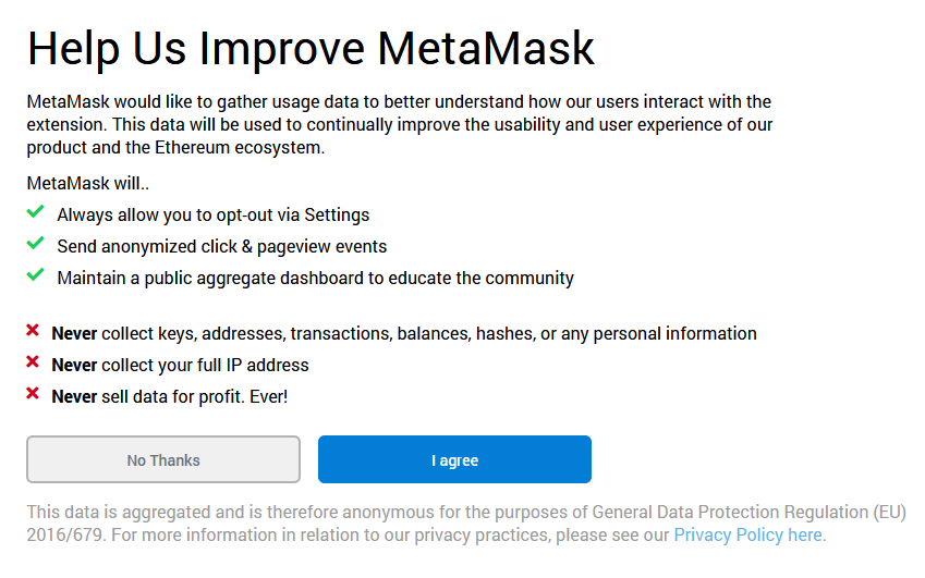 privacy policy mm